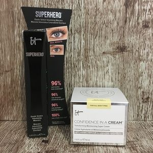 IT COSMETICS Confidence in a Cream & Mascara NEW